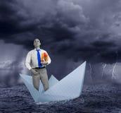 Difficulty in business. A difficulty in business concept Stock Photos