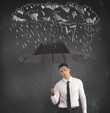 Difficulty in business Royalty Free Stock Images