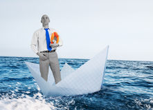 Difficulty and crisis. In business Stock Photo