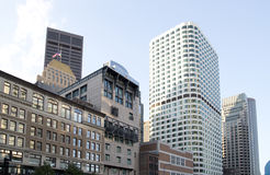 Diffrent modern buildings in city Boston. Different modern buildings in city Boston, Mass USA Royalty Free Stock Images