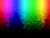 Diffusely regnbågefärgbakgrund Arkivfoto