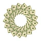 Diffusion de fleur d'argent liquide illustration de vecteur
