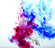 Diffusion of ink Royalty Free Stock Photo