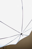 Diffusion umbrella. Studio umbrella diffuser for continuous light stock photos
