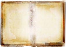 Diffusione del libro di Grunge Fotografia Stock