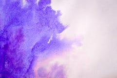 Diffusioni rosa blu dell'inchiostro Immagine Stock Libera da Diritti