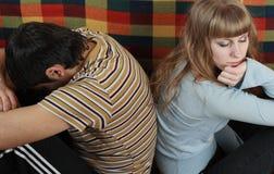 Dificultades del lazo Foto de archivo libre de regalías