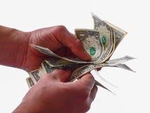Dificultades del pago - ahorros personales fotos de archivo libres de regalías