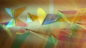 Difraction of light Royalty Free Stock Photo