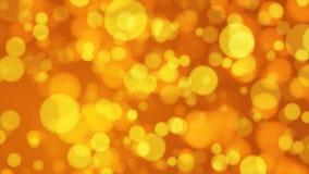 Difunda Bokeh ligero, de oro, eventos, Loopable, 4K metrajes