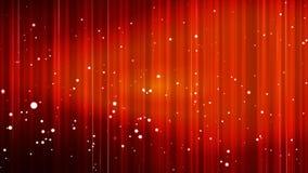 Difunda las líneas de alta tecnología verticales burbujas, rojo, eventos, Loopable, 4K ilustración del vector