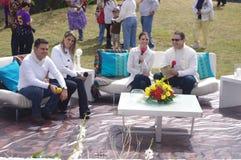 Difusión de Guatevision Imagen de archivo