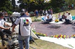 Difusión de Guatevision Foto de archivo