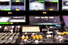 Difusión de TV Fotografía de archivo