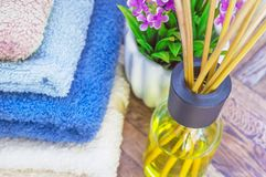 Difusor do óleo do aroma Refrescar do ar Fotos de Stock Royalty Free