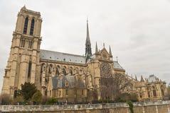 Diga de Parigi di Notre Immagine Stock