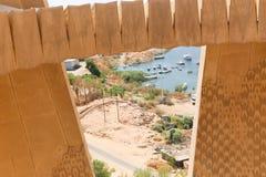 Diga di Assuan in alta diga - Egitto Immagine Stock Libera da Diritti