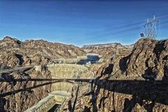 Diga di Hoover Nevada fotografia stock
