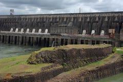 Diga di idropotenza di Itaipu Immagini Stock Libere da Diritti