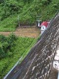 Diga di Khun Dan Prakan Chon Fotografie Stock