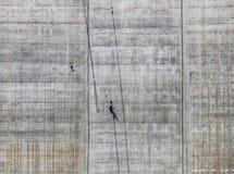 Diga di Locarno - salto dell'ammortizzatore ausiliario Fotografia Stock