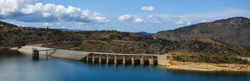 Diga di Maguga, Swaziland Fotografia Stock Libera da Diritti
