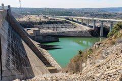 Diga di Mansfield in Austin Texas Fotografia Stock