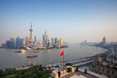 Diga di Schang-Hai Fotografie Stock Libere da Diritti
