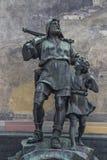 Diga el monumento en Altdorf Fotografía de archivo