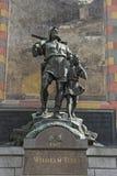 Diga el monumento en Altdorf Imagen de archivo