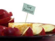 Diga el queso Fotografía de archivo libre de regalías