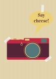 Diga el queso Imagen de archivo libre de regalías