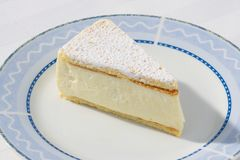Diga el queso (la torta) Imagen de archivo