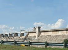 Diga idroelettrica Fotografia Stock Libera da Diritti