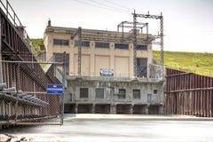 Diga idroelettrica Fotografie Stock