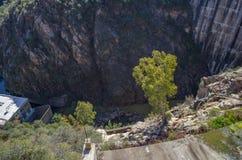Diga idroelettrica immagine stock