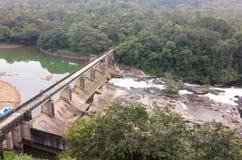 Diga nel Kerala immagini stock