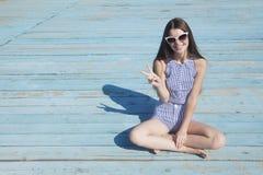 Diga olá! às férias! Fotografia de Stock Royalty Free