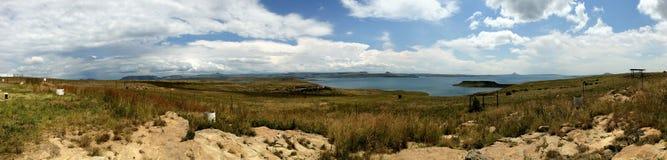 Diga panoramica Sudafrica di Sterkfontein Fotografie Stock