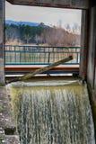 Diga sul fiume Immagini Stock