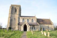 Digby教会在农村英国 库存图片
