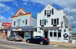 Digby street scene. DIGBY NOVA SCOTIA JUNE 4: Digby street scene a Canadian town in southwestern Nova Scotia. It is the Administrative centre and largest Royalty Free Stock Image
