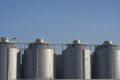 Digester building Royalty Free Stock Photos