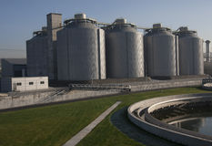 Digester building Stock Images