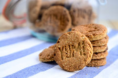 Digestive biscuits Royalty Free Stock Image