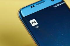 Digg application icon Stock Photos
