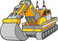 digger διάνυσμα κατασκευής απεικόνιση αποθεμάτων