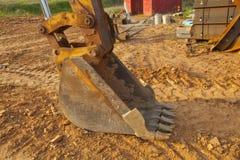 Digger κατασκευής Στοκ Εικόνες