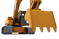 Digger Royalty Free Stock Photo