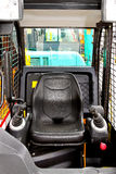Digger driver position Royalty Free Stock Photography